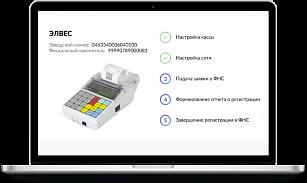 ЭЛВЕС-МФ — быстрая пошаговая регистрация в ФНС в режиме реального времени