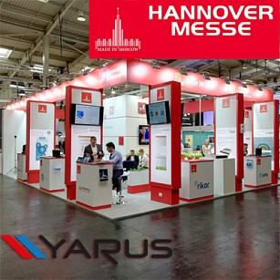 Ежегодная промышленная ярмарка Hannover Messe прошла в Германии с 23 по 27 апреля.